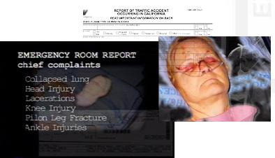 Car Crash reports and medical images